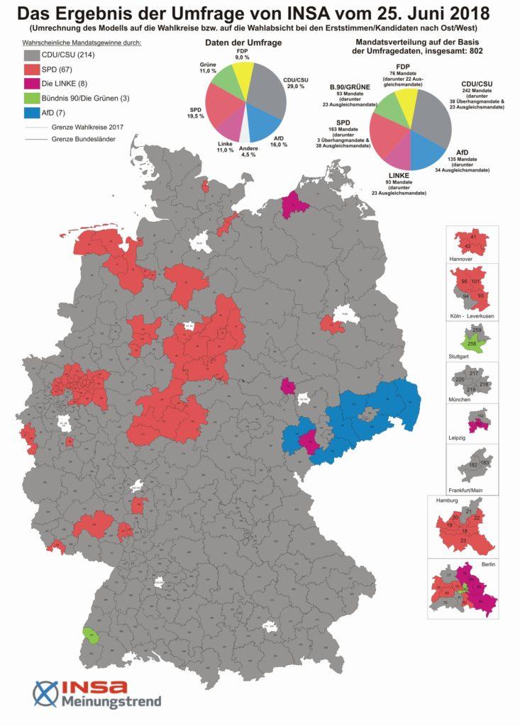 Bundestagswahlkreise 25.6.2018